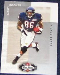 2002 Fleer Boxscore Marty Booker #103 Bears