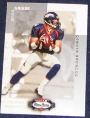 2002 Fleer Boxscore Brian Griese #104 Broncos
