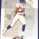 2002 Fleer Boxscore Rod Smith #100 Broncos