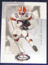 2002 Fleer Boxscore Kevin Johnson #90 Browns