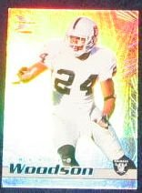 1999 Pacific Prism Charles Woodson #106 Raiders