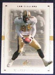 1999 SP Authentic Cam Cleeland #54 Saints