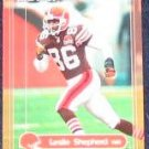 2000 Fleer Impact Leslie Shepherd #25 Browns