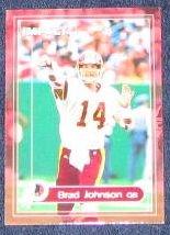 2000 Fleer Impact Brad Johnson #101 Redskins