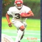1996 Fleer Rookie Ki-Jana Carter #28 Bengals