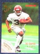 1996 Fleer Rookie Ki-Jana Carter #28 Bengals