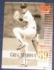 1999 Upper Deck Century Legends Greg Maddux #39 Braves