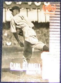 1999 Upper Deck Century Legends Carl Hubbell #45 Giants