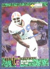 1997 Coll. Choice Turf Champ. Bruce Smith #TC20 Bills