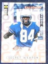 1997 Coll. Choice Name of the Game Joey Galloway #83