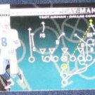 1996 Coll. Choice Play-Maker Troy Aikman #U67 Cowboys
