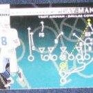 1996 Coll. Choice Play-Maker Troy Aikman #U67 Cowboys
