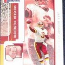 2001 Fleer Game Time Jeff George #9 Redskins
