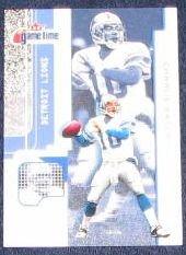 2001 Fleer Game Time Charlie Batch #44 Lions