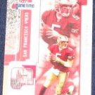 2001 Fleer Game Time Jeff Garcia #28 49ers