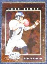 2001 Leaf Certified Materials John Elway #52 Broncos