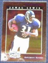 2001 Leaf Certified Materials Jamal Lewis #41 Ravens