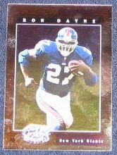 2001 Leaf Certified Materials Ron Dayne #78 Giants