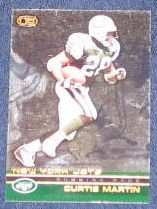 2002 Pacific Heads-Up Curtis Martin #84 Jets