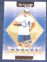 2002 Donruss Rated Rookie Lamar Gordon #220
