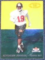 2000 Fleer Tradition Whole 10 Yds Keyshawn Johnson #4