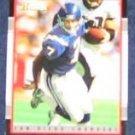 2001 Bowman Doug Flutie #90 Chargers