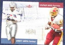 2000 Fleer Sunday Showdown E. Smith/S. Davis #1