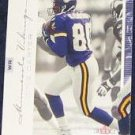 2001 Fleer Genuine Cris Carter #8 Vikings
