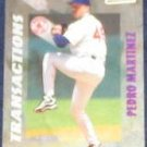 1998 Stadium Club Transactions Pedro Martinez #398