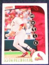 1999 UD Victory Mark McGwire #438 Cardinals