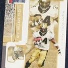 2001 Fleer Game Time Ricky Williams #99 Saints
