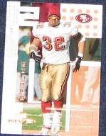 2002 Upper Deck MVP Kevan Barlow #209 49ers