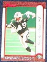 1999 Bowman Keyshawn Johnson #109 Jets