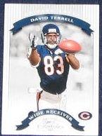 2002 Donruss Classics David Terrell #9 Bears