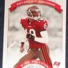 2002 Donruss Classics Keyshawn Johnson #40 Buccaneers