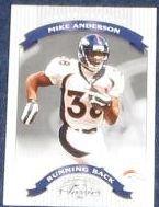2002 Donruss Classics Mike Anderson #60 Broncos