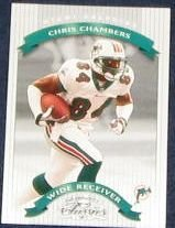 2002 Donruss Classics Chris Chambers #74 Dolphins