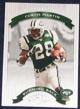 2002 Donruss Classics Curtis Martin #80 Jets