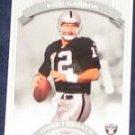 2002 Donruss Classics Rich Gannon #85 Raiders