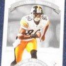 2002 Donruss Classics Plaxico Burress #90 Steelers