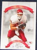 2002 Donruss Classics Tony Gonzalez #68 Chiefs
