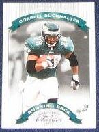 2002 Donruss Classics Correll Buckhalter #31 Eagles