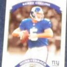 2002 Donruss Classics Kerry Collins #26 Giants