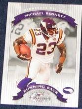 2002 Donruss Classics Michael Bennett #19 Vikings