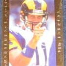 1992 Pro Line Coll Quarterback Gold Jim Everett #6 Rams