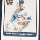 2001 Fleer Greats of the Game Duke Snider #133 Dodgers