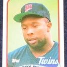 1989 Topps Kirby Puckett #650 Twins