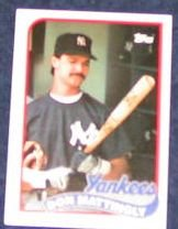 1989 Topps Don Mattingly #700 Yankees