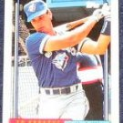 1992 Topps Debut Ed Spague #167 Blue Jays