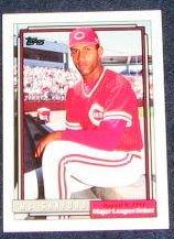 1992 Topps Debut Mo Sanford #156 Reds